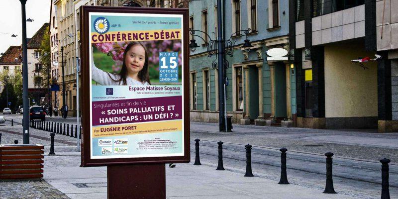 affiche conférence soins palliatifs